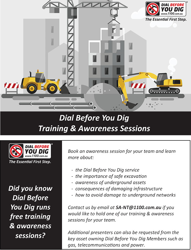 Dial Before You Dig Training & Awareness Sessions
